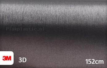 3M 1080 BR201 Brushed Steel plakfolie