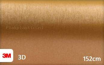 3M 1080 BR241 Brushed Gold plakfolie