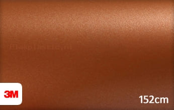 3M 1080 M229 Matte Copper Metallic plakfolie