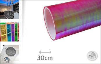 Flipflop roze doorzichtig plakfolie