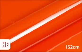 Hexis HX20165B Mandarin Red Gloss plakfolie