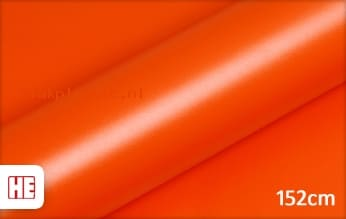 Hexis HX20165M Mandarin Red Matt plakfolie