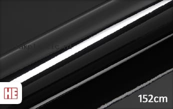 Hexis HX20889B Coal Black Gloss plakfolie