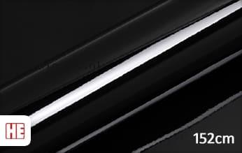 Hexis HX20890B Deep Black Gloss plakfolie