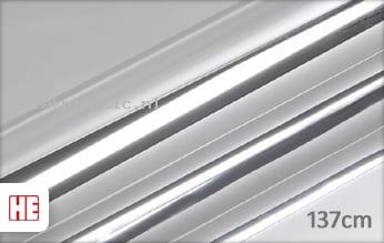 Hexis HX30SCH01B Super Chrome Silver Gloss plakfolie