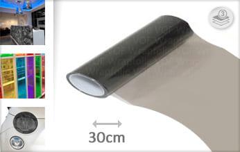 Smoke transparant plakfolie