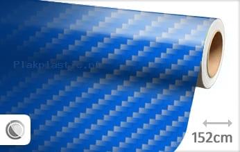 Blauw 2D carbon plakfolie