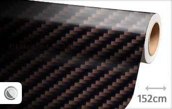 Bruin 2D carbon plakfolie