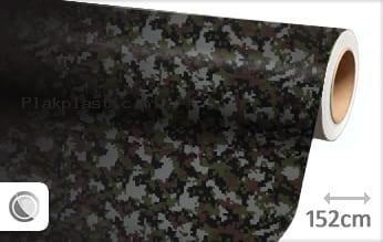 Camouflage digitaal plakfolie