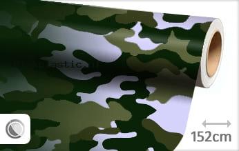 Camouflage groen plakfolie
