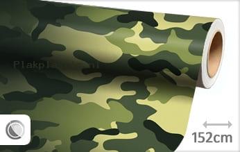 Camouflage oerwoud plakfolie
