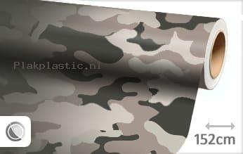 Camouflage plakfolie
