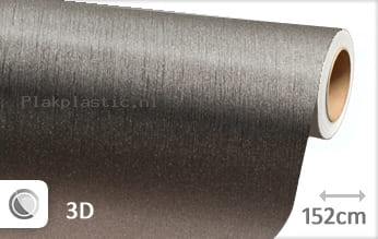 Geborsteld aluminium antraciet plakfolie