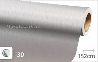 Geborsteld aluminium zilver plakfolie