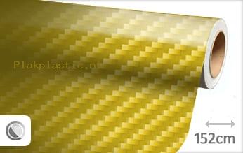 Geel 2D carbon plakfolie