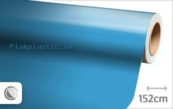 Glans babyblauw plakfolie