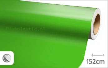 Glans groen plakfolie