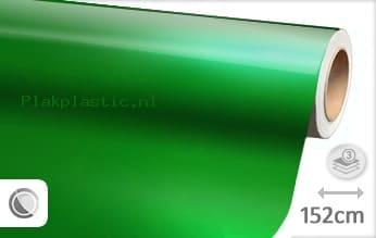 Glans metallic groen plakfolie