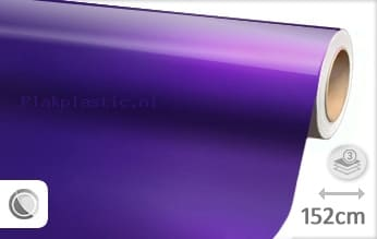 Glans metallic paars plakfolie