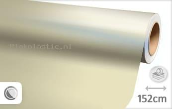Glans parelmoer wit plakfolie
