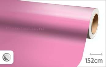 Glans roze plakfolie