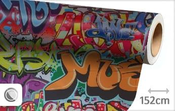 Graffiti plakfolie