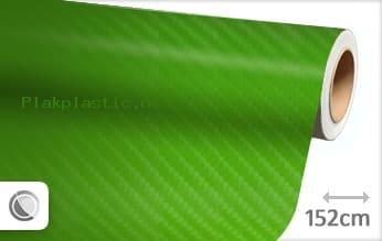 Groen 4D carbon plakfolie