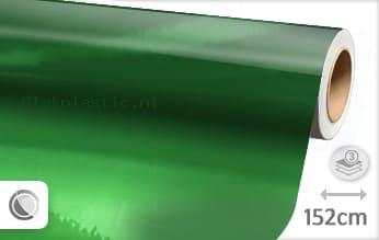 Groen chroom plakfolie