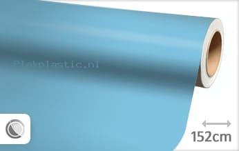 Mat babyblauw plakfolie