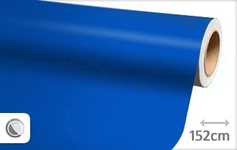 Mat blauw plakfolie