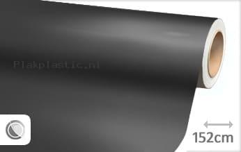 Mat chroom antraciet plakfolie