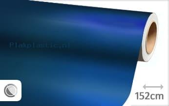Mat chroom blauw plakfolie