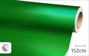 Mat chroom groen plakfolie