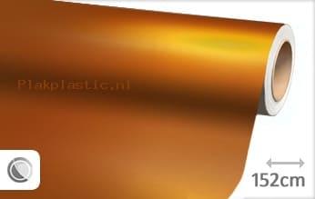 Mat chroom oranje plakfolie