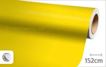 Mat geel plakfolie