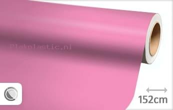 Mat roze plakfolie