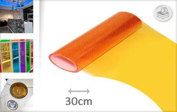 Oranje tint plakfolie