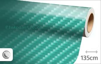 Turquoise 2D carbon plakfolie