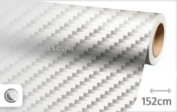 Wit 2D carbon plakfolie