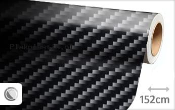 Zwart 2D carbon plakfolie